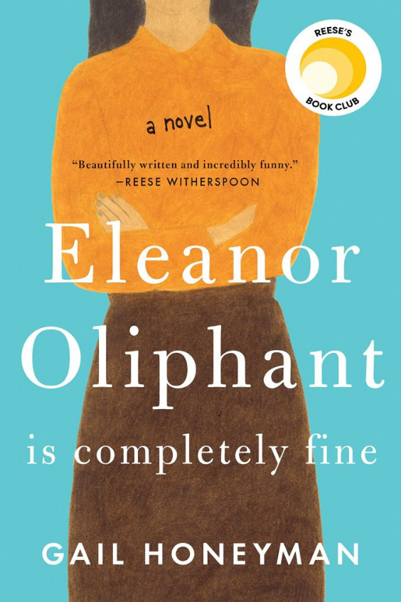 Book, Eleanor Oliphant is Completely Fine by Gail Honeyman